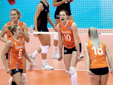 Nederlandse volleybalsters verliezen in halve finale WK van Servië
