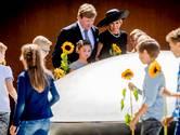 Koningspaar opent MH17-monument tijdens indrukwekkende ceremonie