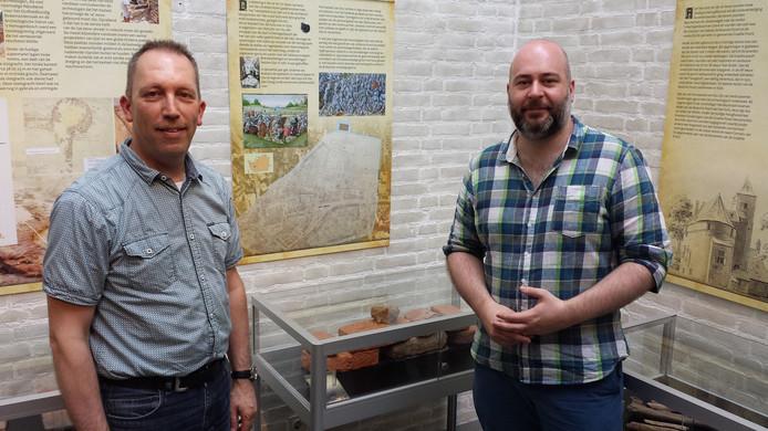 Hans Pennings (links) en Jurgen Pigmans.