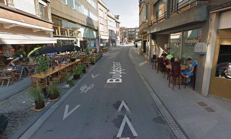 De Budastraat is woensdag dicht voor het verkeer.