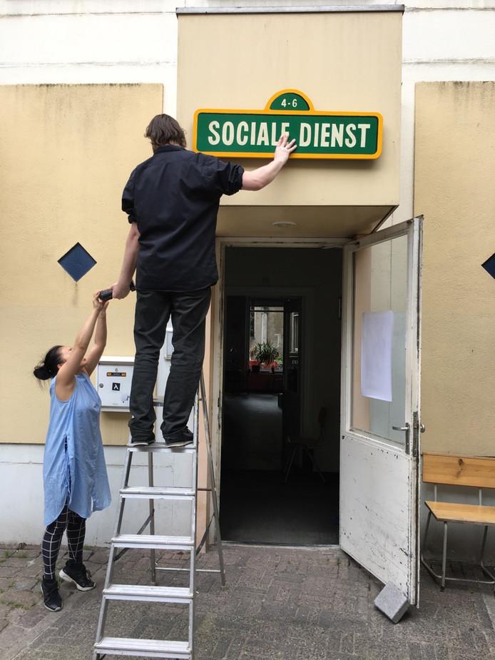 De Sociale Dienst voordat het in 2017 open ging. (archieffoto)