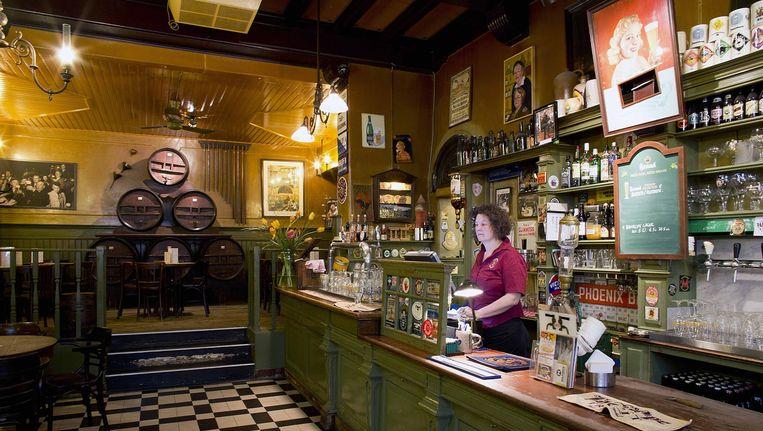 Café In de Wildeman Beeld Homeira Rastegar