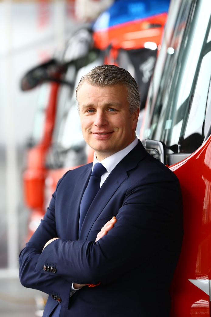 Arjen Schepers is commandant van de Veiligheidsregio IJsseland