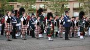 Red Hackle Pipe Band viert gouden jubileum met taptoe