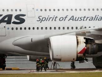 Motor ontploft in volle vlucht: Qantas houdt superjumbo's voorlopig aan de grond