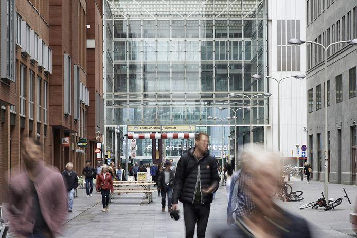 Het centrum van Den Haag.