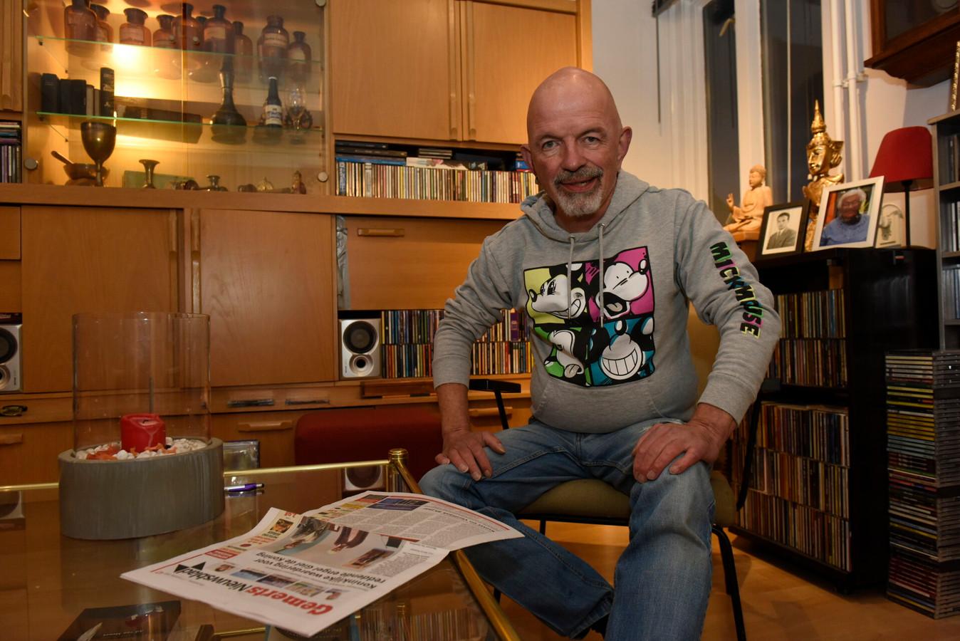 Paul Swinkels uit Gemert had ook een bijdrage aan de redding van zijn buurvouw uit een brandende woning.