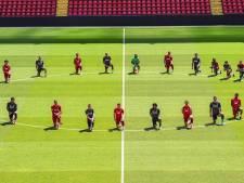 Van Dijk, Wijnaldum en teamgenoten Liverpool staan stil bij dood George Floyd