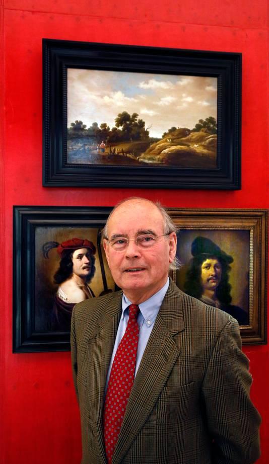 Bert Bieman, voorzitter van Stichting Gouden Eeuw Gorinchem