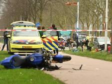 Motorrijder gereanimeerd na harde botsing in Utrecht