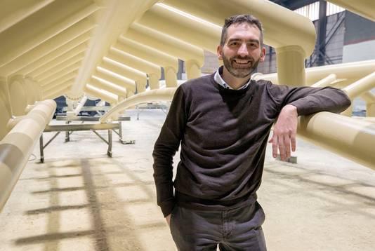 Ronny Loos, Commercieel Directeur CSM Steelstructures.Foto: Joyce van Belkom