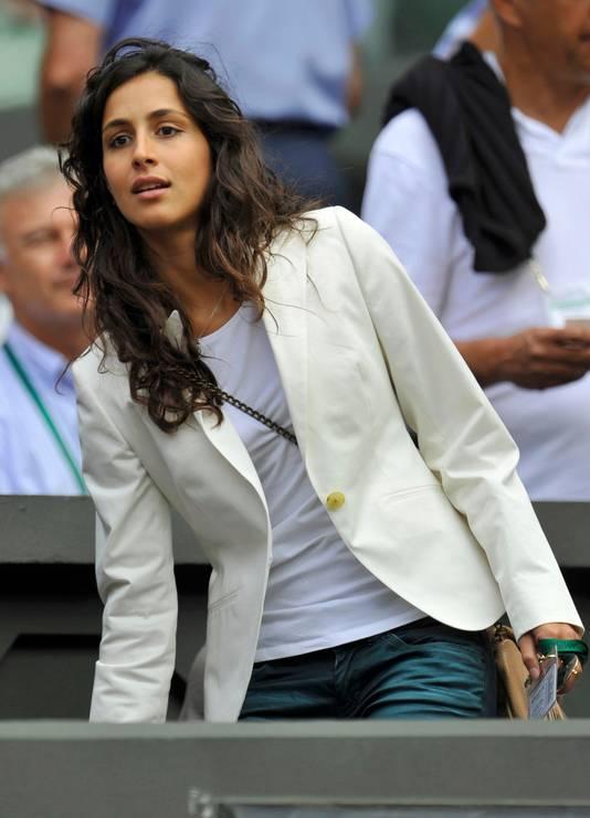 Maria Francisca Perello, de vriendin van Rafael Nadal.