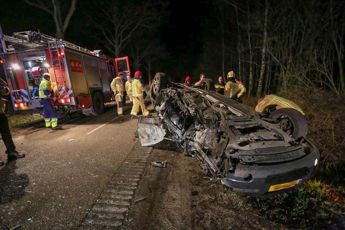 Zwaar eenzijdig ongeval in Reusel