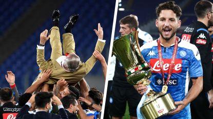 Van muiterij en verraad tot winst in de Coppa Italia. Hoe de hemel helemaal is opgeklaard voor Dries Mertens en Napoli