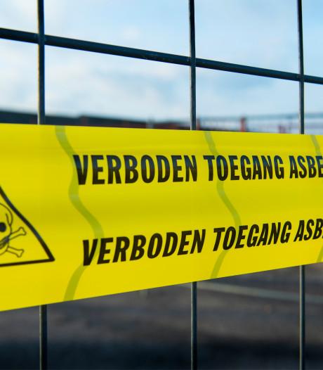 Asbestpuinhoop in Borne eindelijk weg