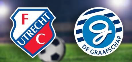 LIVE: De Graafschap na half uur spelen op achterstand tegen Jong FC Utrecht