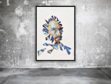 Expositie met 130 graffitiportretten Vincent van Gogh in Nuenen