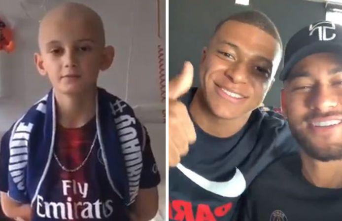 Neymar et Mbappé ont adressé un message à Loïck