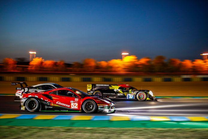 De 24 uur van Le Mans.