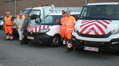Stad vervangt oude dieselvoertuigen door milieuvriendelijke voertuigen