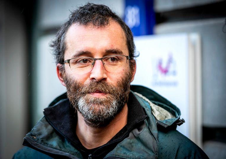 Activist Rogier Meijerink. Beeld Hollandse Hoogte /  ANP