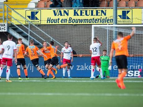 Helmond Sport knokt zich in Volendam naar een gelijkspel