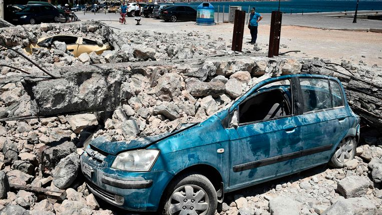 Op 22 juli werd ook het Griekse eiland Kos getroffen door een aardbeving. Die had toen een kracht van 6.7, heviger dan de beving die zich deze ochtend voordeed voor de kust van Bodrum.