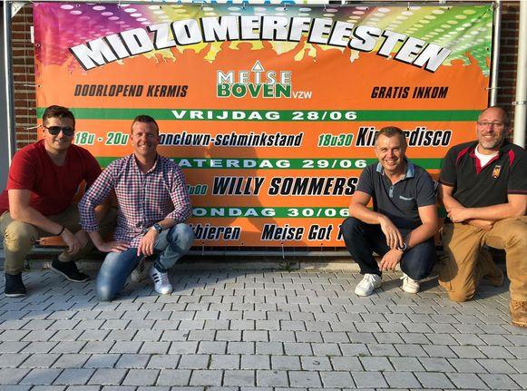 De vzw Meise Boven maakt zich op voor een nieuwe editie van de Midzomerfeesten.