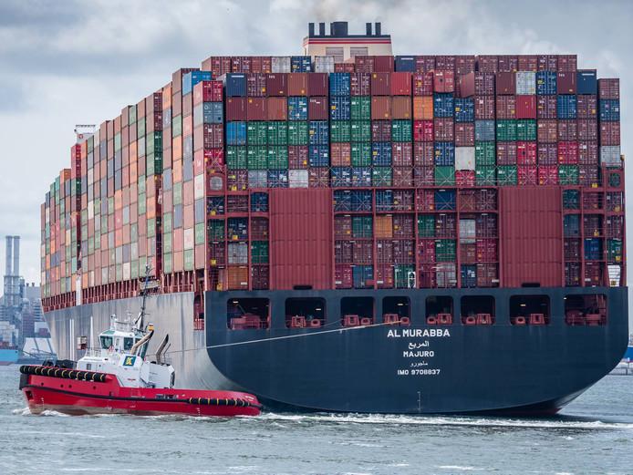 The Freight Hero huurde containerruimte bij rederijen, die containers vervoeren vanuit Azië - vooral China - naar de havens Antwerpen en Rotterdam.