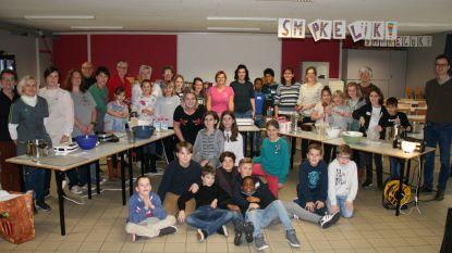 Gemeenteschool Schatteneiland bakt meer dan 3.000 wafels ten voordele van Music For Life