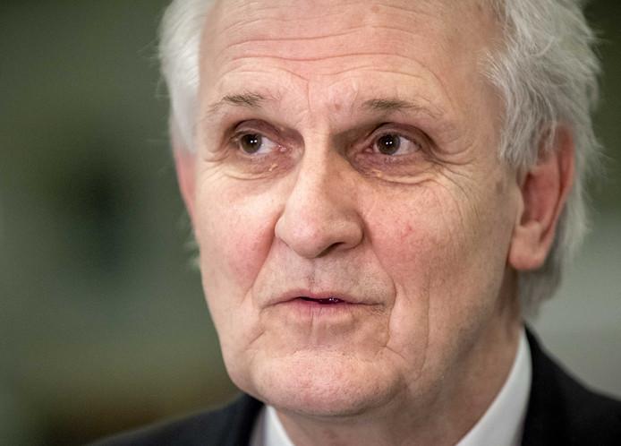 Pieter Broertjes, burgemeester gemeente Hilversum en voorzitter veiligheidsregio Gooi en Vechtstreek.