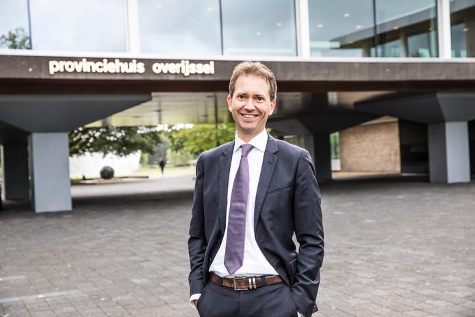 Eddy van Hijum, gedeputeerde voor Economie, Financiën en Deelnemingenbeleid.