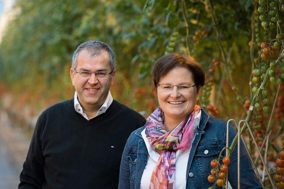 Koen Lauwerysen en zijn partner zijn erg blij met het duurzaamheidscertificaat.
