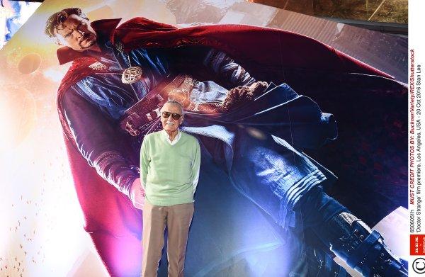 De superhelden van Marvel-scenarist Stan Lee waren menselijk, ze konden zelfs verliefd worden