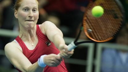 Alison Van Uytvanck treft Française Ferro in achtste finales WTA Lugano