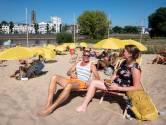 Het kwik overstijgt de 30 graden met gemak en Strand Zuid is 'hartstikke druk'