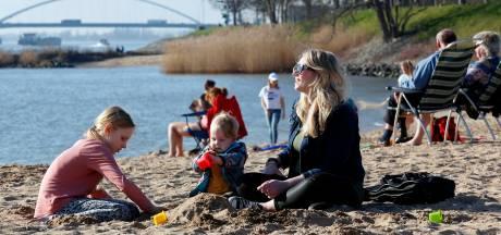 Vandaag en met Pasen super zonnig: 20 tot ruim 26 (!) graden
