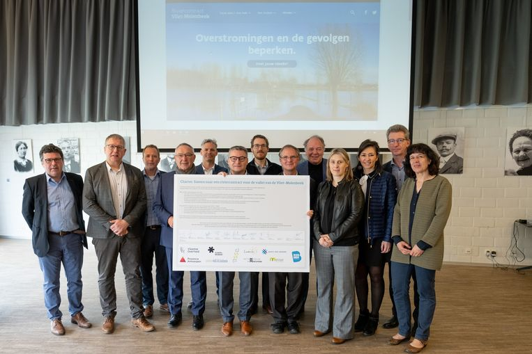 PUURS SINT-AMANDS De lancering van het participatieproject 'Riviercontract Vliet-Molenbeek'.