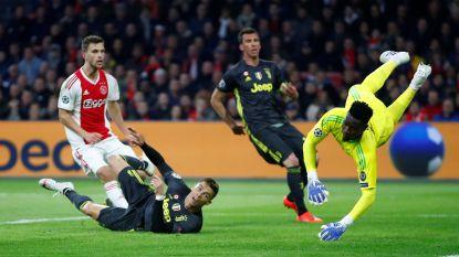 Ajax doet Oude Dame naar adem happen
