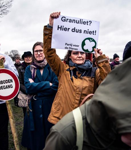 Meerderheid Tweede Kamer laat stort granuliet bij Alphen doorgaan