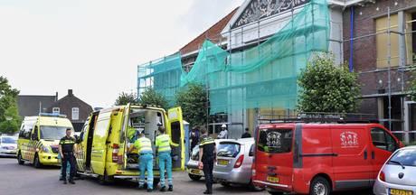 Bouwvakker gewond na val van steiger in Hilvarenbeek