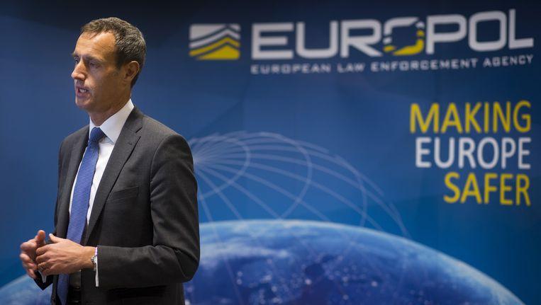 Rob Wainwright, hoofd van Europol (Archiefbeeld).