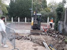 Wateroverlast in Ubbergen door gesprongen leiding