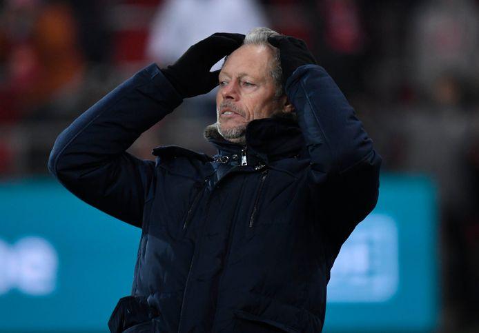 Standard-coach Michel Preud'homme.