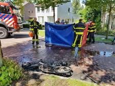 Vrouw in brand door ongeluk, kleindochter breekt arm