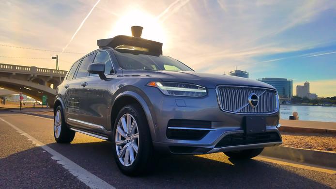 Uber heeft al een groot aantal zelfrijdende Volvo's in dienst
