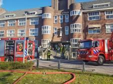 Grote brand bij zorginstelling ASVZ Vincentius, een persoon gewond geraakt