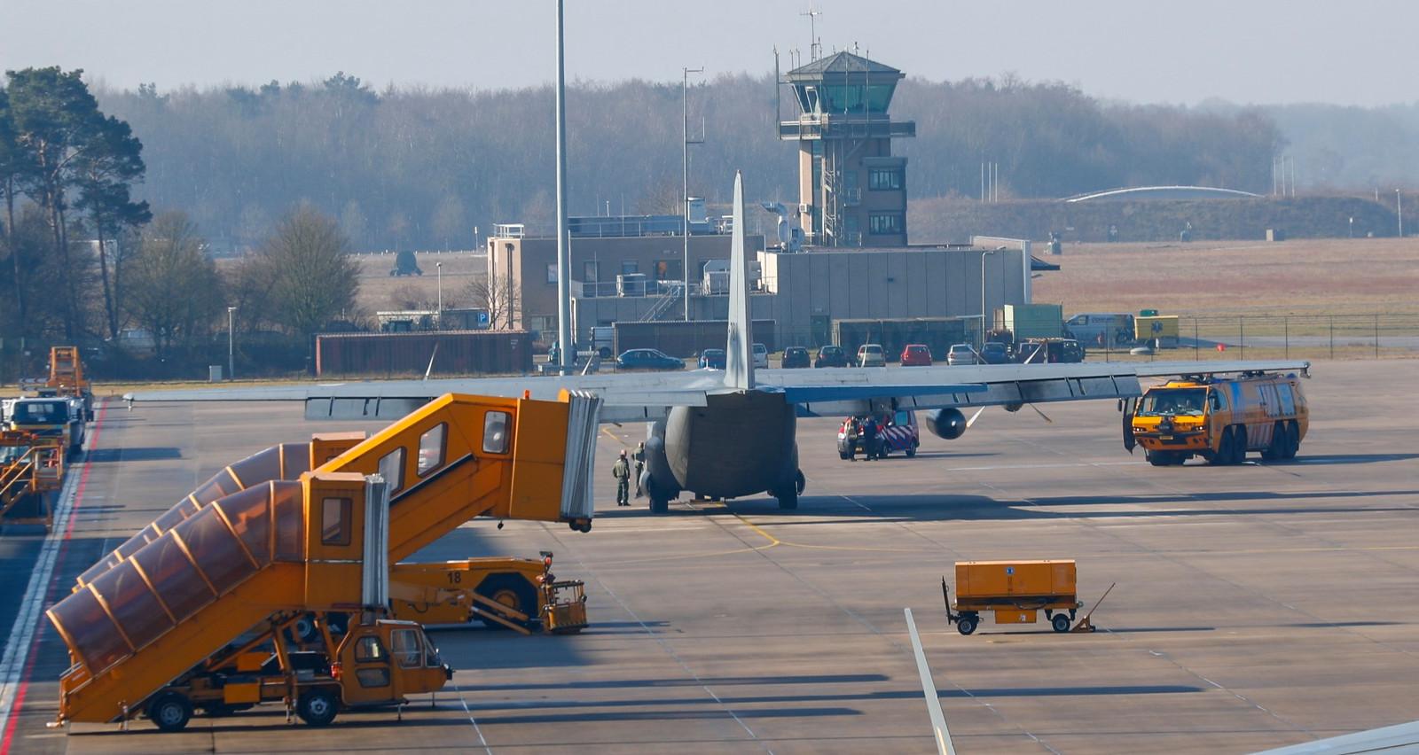 Vliegbasis Eindhoven.
