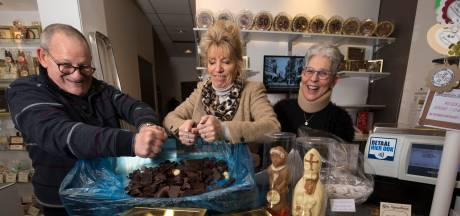Sinterklaas maakt plaats voor de Kerstman bij Mousset Chocolatier