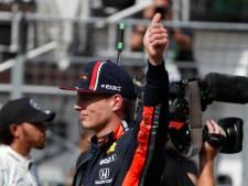 Départ en pole, une grande première pour Verstappen